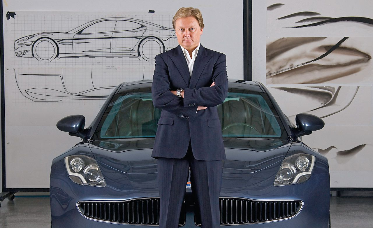 Henrik Fisker utmanar den traditionella bilindustrin